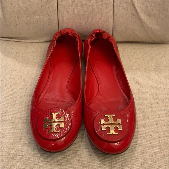 a56e3a605 Authentic Tory Burch size 37 red flats. M 5c9807c395199658da7cd8d4